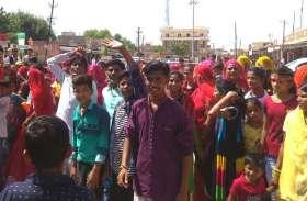 रामदेवरा के लिए रवाना हुए पैदल संघ