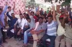 गुलाबीनगर में लो फ्लोर बसों की हड़ताल ने बढ़ाई मुश्किलें — देखें वीडियो