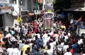 video : उदयपुर में मोहर्रम पर निकले मन्नत के ताजिये...शाम को निकलेेेंगेे ताजियों के जुलूस..