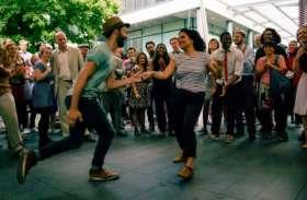 अब युवाओं को भाया आउटडोर स्टेशंस पर डांस करना, यूट्यूब पर वायरल हुए वीडियो