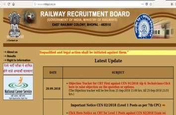 Alert! RRB Group D 25 सितंबर को होने वाली परीक्षा हुई स्थगित, जानिए क्यों ?