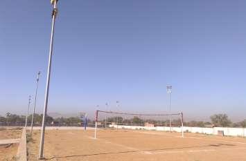 वर्षों से बदहाल पड़े शाहपुरा के खेल स्टेडियम की बदली सूरत....अब निखरेगी खेल प्रतिभाएं