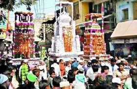 राजस्थान में यहां मोहर्रम के रास्ते को लेकर विवाद, अब तक नहीं निकाले गए ताजिए, पुलिस कर रही समझाइश