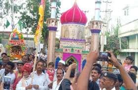 PHOTO@ TONK : मोहर्रम पर मातमी धुन पर ताजिया निकाल कर्बला में सुपुर्द-ए-खाक किया...देखें तस्वीरें