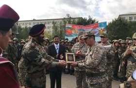 भारत-कजाखस्तान के बीच संयुक्त युद्धाभ्यास का समापन