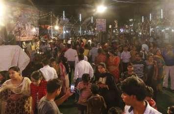 शहर में बिखरी गजानन के विविध रूपों की छटा, उमड़ी भक्तों की भीड़