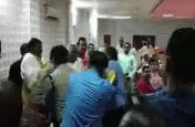 BJP विधायक और उनके समर्थकों ने भरी बैठक में अधिकारी को पीटा, मची भगदड़