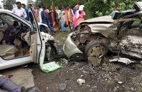 कारों की आमने-सामने भिड़ंत में चार ने मौके पर दम तोड़ा, मरने वालों में सीईओ भी