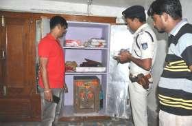 यहां फिर चोरों ने की लाखों रूपए के बर्तन की चोरी