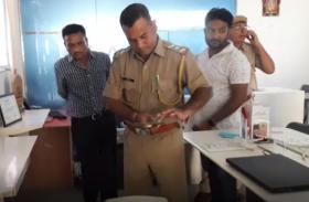 मोबाइल शोरूम पर चोरों का धावा, लाखों का माल पार, चोरों की तलाश में जुटी पुलिस