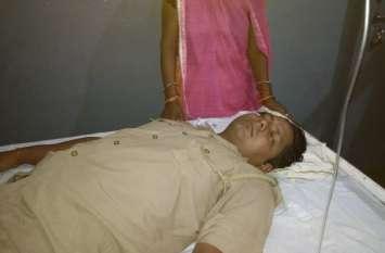 सिपाही ने पत्नी से लड़कर खाया जहर, अस्पताल में हुआ भर्ती