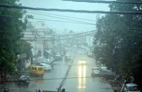 आधी रात से तेज बारिश शुरू