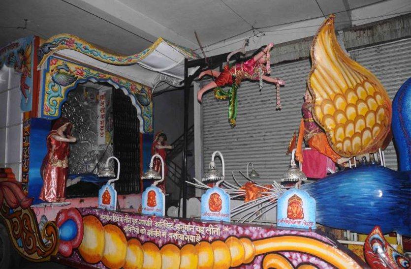 झिलमिलाती झांकियों के साथ होगी लम्बोदर की विदाई