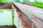 निर्माणाधीन पुल में गिरकर ग्रामीण की मौत, अब ठेकेदार कंपनी पुलिस को नहीं बता रही घटना के लिए जिम्मेदार लोगों के नाम