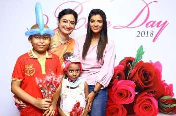 रोजडे के माध्यम से अभिनेत्री ऐश्वर्या राजेश ने दिया जागरूकता संदेश