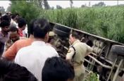 दिल्ली-यमुनोत्री हाई-वे पर हुआ बड़ा हादसा, सवारियों से भरी बस गिरी खाई में