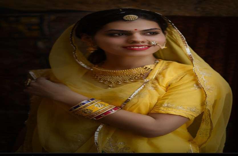 Beautiful photo shoot with jodhpur's fashion designer Saloni in Jaisalmer