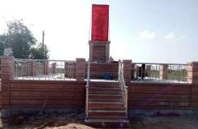 जम्मू कश्मीर के तंगधार में शहीद सपूत गणपतराम की मूर्ति का अनावरण आज
