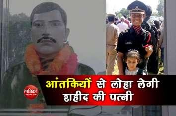 जम्मू-कश्मीरः शहीद की बेवा ने चूड़ियां तोड़ीं और बंदूक थामी, फौज में बनी लेफ्टिनेंट