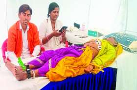 चिकित्सा शिविर में 152 रोगी लाभान्वित