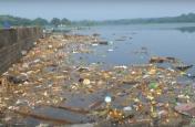 VIDEO: नागपुर में गणपति विसर्जन से प्रदूषित हुई झील