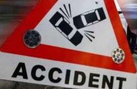 दुर्घटना में युवक की हुई मौत से नाराज ग्रामीणों ने पुलिस पर किया हमला, गाड़ियां क्षतिग्रस्त