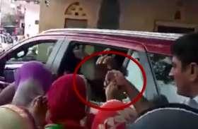 राजस्थान गौरव यात्रा के दौरान सामने आया हैरान कर देने वाला वीडियो