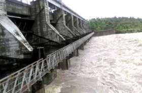 Heavy Rain! चित्तौडगढ़़ के गंभीरी डेम में पानी की जबरदस्त आवक, डेम के गेट खोले, बीसलपुर बांध में पहुंचेगा पानी