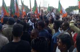 डेंगू पर राजनीति: 44 लोगों की मौत के बाद भाजपा नेता का निगम में प्रदर्शन, महापौर से मांगा इस्तीफा