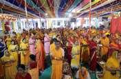 क्षीरसागर से जल लाकर भगवान का किया जलाभिषेक, पयुर्षण पर्व के तहत जिनालयों में हुए धार्मिक आयोजन