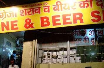 अलवर में यहां शटर का ताला तोडक़र ठेके से लाखों की शराब व नकदी चोरी, नहीं लग पाया कोई सुराग