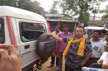 भाजपा नेताओं पर जानलेवा हमला, गाड़ियों में तोड़फोड़, कई घायल