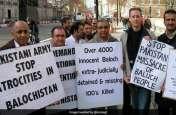 संयुक्त राष्ट्र मुख्यालय के बाहर बलूच कार्यकर्ताओं ने लगाए नारे, पाकिस्तान के अत्याचारों के खिलाफ आवाज उठाई