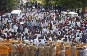तहसीलदार व छात्रनेता के बीच हुई मारपीट के मामले ने लिया बड़ा रूप, सर्वसमाज ने निकाली आक्रोश रैली