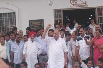 VIDEO: भूपेश बघेल की गिरफ्तारी के विरोध में कांग्रेस का प्रदेशभर में जेल भरो आंदोलन