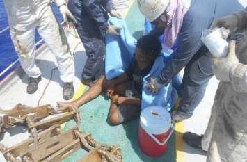 समुद्र में दो महीने तक फंसा रहा शख्स, नाव की लकड़ी और खारे पानी के सहारे ऐसे रहा ज़िंदा