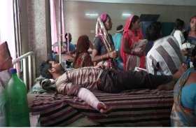 Breaking News  भाजपा के महाकुंभ में जा रही बस पलटी, बाल-बाल बचे लोग, इस कारण पलटी बस