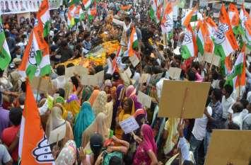 Live : कमलनाथ का रोड-शो शुरू, भीड़ देख विरोधियों के उड़े होश