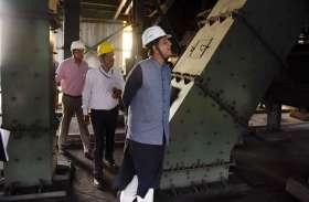 कोयला व रेल मंत्री गोयल ने किया खदान का दौरा, कोल साइडिंग का लिया जायजा, अधिकारियों को दिए ये निर्देश