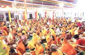 पयुर्षण पर्व के आयोजनों में उमड़ा जैन समाज