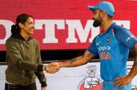 बीसीसीआई ने कोहली और मंधाना को खेल रत्न पाने के लिए दी बधाई