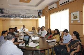 नए महाप्रबंधक ने विभागाध्यक्षों के साथ की बैठक