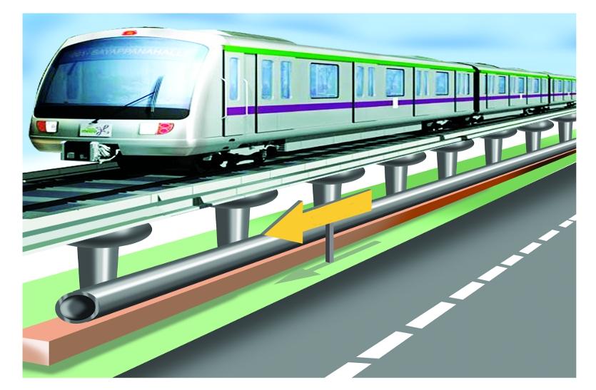 भोपाल-इंदौर मेट्रो रेल को सीएम कमलनाथ की हरी झंडी