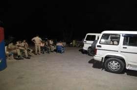 अवैध शराब की सूचना पर रेडबग्गी पहुंचे पुलिस दल पर हमला