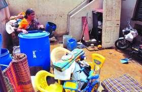 बेंगलूरु में घरों में घुसा पानी, लोग ने जागकर काटी रात