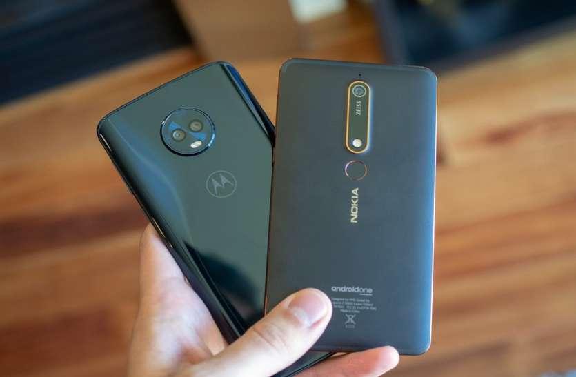 Samsung Galaxy J6 Plus और Nokia 6.1 Plus में जाने कौन है बेहतर
