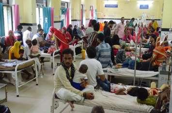video: मौसमी बीमारियों ने बढ़ाया अस्पताल में का मर्ज, शिशु वार्ड में एक पलंग पर तीन से चार बच्चे भर्ती करने पर बढ़ा संक्रमण का खतरा