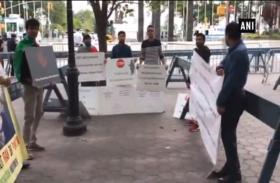 वीडियो: यूएन मुख्यालय के बाहर बलूचिस्तानियों ने किया प्रदर्शन
