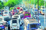 11 हजार वाहन आए थे, आयोजन बाहरी क्षेत्र में होने से शहर बचा ट्रैफिक जाम से