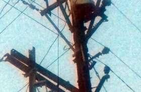 रात भर गुल रही अनेक हिस्सों की बिजली
